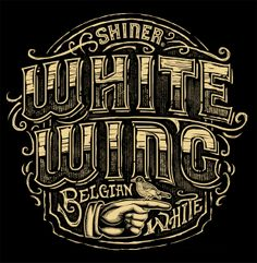 Shiner White Wing Belgian White T-Shirt on Behance