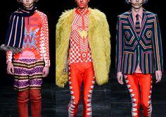Paris Menswear Autumn/Winter 2014-Walter Van Beirendonck – A/W 2014- Blazer Stripes – Bold Geometrics – Aboriginal Motifs & Marking –  Techno-Tribalism – Graphic Pattern