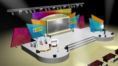 Stage Design KPID Awards 2012Malam Anugerah Penyiaran Jawa TimurThe Square Ballroom - Surabaya23 September 2012@production departmentKompas TV Surabaya 40 uhf