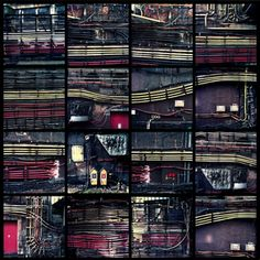 Wires on London Underground stations    archival C-type print £72