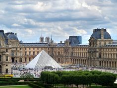 World's Most-Visited Castles - No. 2 The Louvre, Paris Annual Visitors: The largest and most famous museum in the world—displaying masterpieces like La Gioconda (the Mona Lisa) and the Winged Victory of Samothrace—got its start as a palace Places Around The World, The Places Youll Go, Places To See, Around The Worlds, Hotel Des Invalides, Rue Saint Honoré, Saint Chapelle, Jardin Des Tuileries, Tour Eiffel