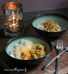 Curry de légumes facile (végétalien) #vegan #currys #glutenfree #sansgluten #végétarien