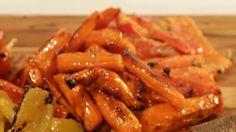Carla Hall's Roasted  Baby  Carrots