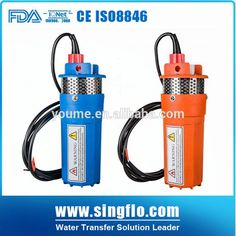 Singflo 12v/24v dc solar water pump price for agriculture/irrigation
