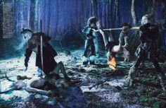 Swift Unicorn: Spell Bound for W Magazine September 2012 by Steven Meisel