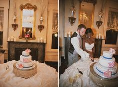 #luxurywedding #nashville riverwood mansion, beautiful african american bride, interracial wedding, pink, blue, #nashvillewedding, multicultural, @riverwoodmansion