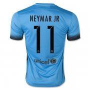 2015-2016 Season FC Barcelona NEYMAR JR 11 Third Soccer Jersey