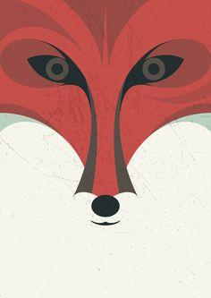 Lady Fox by Luca Morandini , via Behance