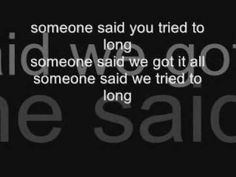 sugar ray - someday (lyrics) - Always loved this one . Song Lyric Quotes, Music Lyrics, Unique Wedding Songs, Add Music, Old Song, Choose Wisely, Lets Dance, Love Songs
