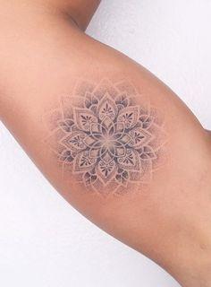 Mandala Tattoos For Women, Mandala Wrist Tattoo, Floral Mandala Tattoo, Wrist Tattoos For Women, Mandala Tattoo Design, Tattoo Designs, Tattoo Ideas, Elbow Tattoos, Mom Tattoos