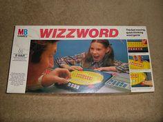 Whizzword MB Games Vintage 1977 Milton Bradley