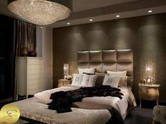 This is a Bedroom Interior Design Ideas. House is a private bedroom and is usually hidden from our guests. However, it is important to her, not only for comfort but also style. Much of our bedroom … Master Bedroom Design, Dream Bedroom, Home Bedroom, Master Bedrooms, Master Suite, Modern Bedroom, Warm Bedroom, Lux Bedroom, Trendy Bedroom