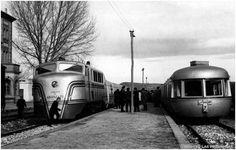 19.12.1964. Viaje inaugural del Talgo Madrid-Valencia. FOTO LAS PROVINCIAS.