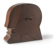 Horst Antes - Der Kopf (The Head), 1977, Steel