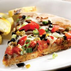Black Bean Nacho Pizza