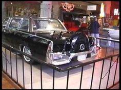 JFK Assassination Limo. University of Texas in Austin. A-M-A-Z-I-N-G!