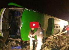 Argentina de luto por accidente en Mendoza que dejó 19 muertos  http://www.facebook.com/pages/p/584631925064466