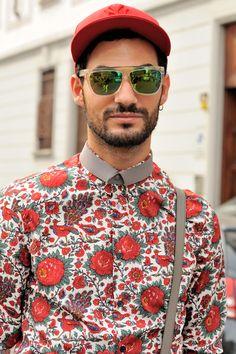 floral shirt    http://pinterest.com/treypeezy  http://OceanviewBLVD.com