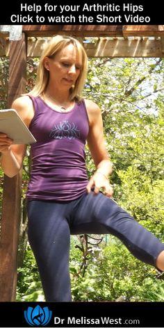 Effective Hip Flexor Stretch: Help for Yoga for Arthritis Hips