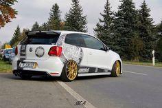 Polo 6R gti #VolkswagenPolo Vw Polo Modified, Vw Gol, Hot Vw, Fiat Uno, Vw Scirocco, Le Polo, Volkswagen Polo, Car Decals, Sticker
