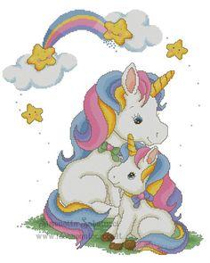 Unicorn Cross Stitch Pattern, Cross Stitch Baby, Cross Stitch Charts, Cross Stitch Patterns, C2c, Precious Moments Coloring Pages, Cross Stitch Geometric, Pony Horse, Plastic Canvas Patterns