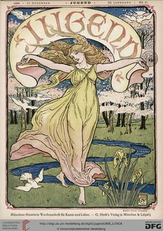 Jugend, German illustrated weekly magazine for art and life, Volume 3.2, 1898.