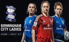 Birmingham City FC Ladies 2016 adidas Home and Away Kits