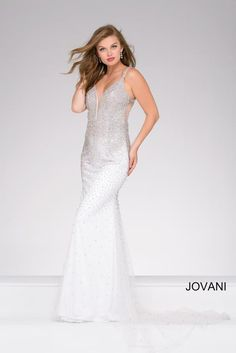 #SS17 #2017 @ http://www.wvlavishboutique.com It's a true gem !!!! Glamours and elegant!!!! Jovani Prom 42700  Jovani Prom