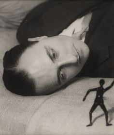 Jacques Rigaut, 1922, by Man Ray
