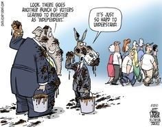 5 Reasons Why Voting Third Party Is Not A Wasted Vote Political Satire, Political Party, Political Cartoons, Political Campaign, Republican Party, Third Party, Hilarious, Humor, Thoughts