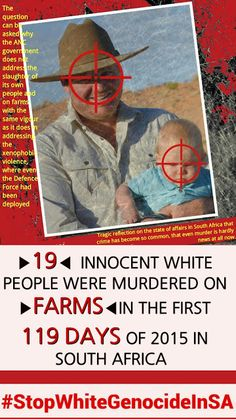 Resultado de imagem para images of whites killed by blacks in south africa