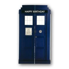 Dr Who Birthday Card from Dormouse Cards