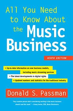 All You Need to Know About the Music Business: Ninth Edit... https://www.amazon.com/dp/B00UDCI3RC/ref=cm_sw_r_pi_dp_U_x_3jGGAbPCR7JV4