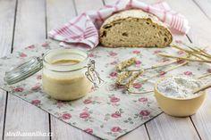 Žitný kvásek - základ pro chleba a jiné pečivo Panna Cotta, Pudding, Bread, Ethnic Recipes, Desserts, Tailgate Desserts, Dulce De Leche, Deserts, Custard Pudding