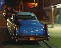 Bill Rhea, oil on canvas