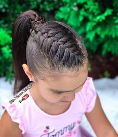 Hairstyles For Round Faces .Hairstyles For Round Faces Little Girl Braid Hairstyles, Cute Braided Hairstyles, Little Girl Braids, Baby Girl Hairstyles, Princess Hairstyles, Toddler Hair Dos, Mexican Hairstyles, Girl Hair Dos, Instagram Hairstyles