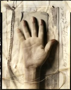 Evidence- prints by lauren-rabbit on DeviantArt Note the truncated life line on this genius artist's hand - suicide!