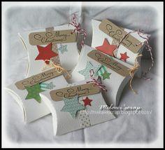 pillow box for Christmas