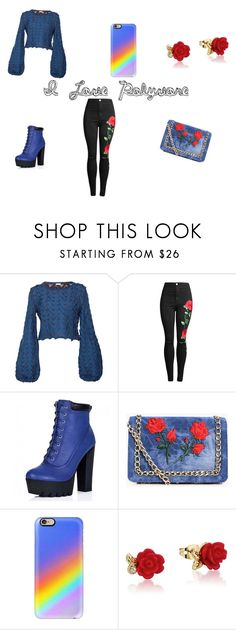 """Chic"" by zvac-anca-teodora ❤ liked on Polyvore featuring Pepa Pombo, Boohoo, Casetify and Disney"