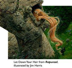 Rapunzel: illustrated by Jim Harris