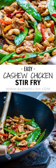 You can make this easy chicken stir fry recipe in a wok, or a cast iron pan, in just 15 minutes. This is a healthy cooking method which any home chef should grasp.