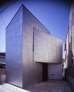 House_EN, Teruo Miyahara. Zinc cladding scales