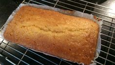 Lemon Drizzle Cake, 4 oz soft margerine 4 oz caster sugar 6 oz self-raising flour 4 tablespoons milk 2 large eggs Grated rind of 1 lemon Syrup: 3 tablespoons icing sugar mixed with 3 tablespoons fresh lemon juice. Line a 2 lb loaf tin and set oven to 160 fan. Cream fat & sugar, add eggs, flour, lemon rind & milk. Bake for c. 40 minutes. Pour over syrup while still warm and leave in tin til cold