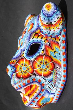 huichol jaguar mask