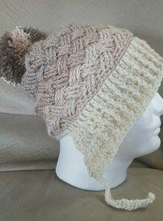 Caron cakes gradient yarn crochet Ltd hat