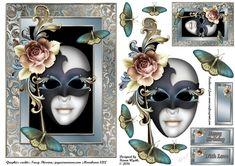 Pretty Masquerade - CraftsuPrint