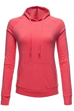 Luna Flower Women's Pullover Hoodie French Terry Kangaroo Tops >>> Read more at the image link.