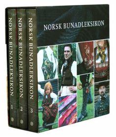 """""""Norsk bunadleksikon. Bd. 1-3"""" av Bjørn Sverre Hol Haugen My Books, Reading, Cover, Reading Books"""
