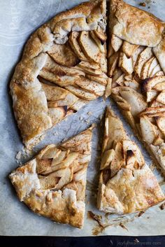 This rustic Cardamom Apple Galette topped with a Maple Mascarpone is what pie dreams are made of. It's easy to make, mind-blowing in flavor, and Gluten Free - you'll fall in love! Best Apple Recipes, Apple Crisp Recipes, Easy Healthy Recipes, Easy Dinner Recipes, Healthy Eats, Clean Recipes, Dinner Ideas, Best Thanksgiving Recipes, Fall Recipes