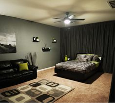 cool teenage bedrooms for guys - Google Search : mens bedroom decorating ideas - www.pureclipart.com